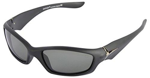 SAFARI Rimmed Sport Unisex Sunglasses (5052XPL  58 mm  Black)