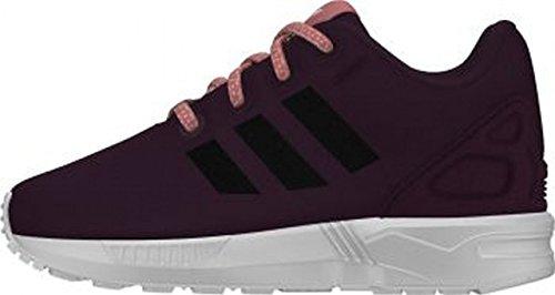 adidas Zx Flux - Sneaker Unisex - Bimbi 0-24 Viola / nero / bianco / rosa