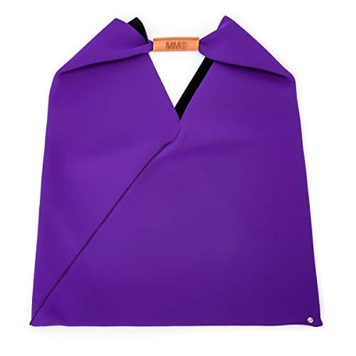 MM6 Maison Margiela Shopper Neopren Violett -