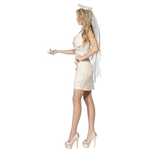 Imagen de traje de ángel caído disfraz alas vestuario alternativa
