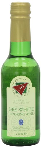 Gourmet Classic White No Alcohol Cooking Wine 250 ml (Pack of 6) Test