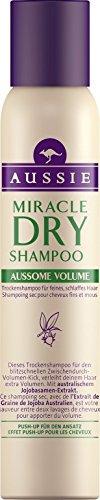 Aussie Miracle Dry Shampoo Aussome Volume für feines schlaffes Haar, 180ml