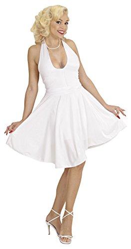 Widmann 35023 - Erwachsenenkostüm Marilyn, Kleid und Gürtel Größe L = 40/42