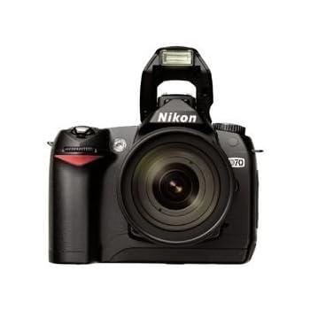Nikon D70 Digital SLR Camera Kit includes AF-S DX Zoom-Nikkor 18-70mm Lens