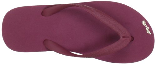 flip*flop - 30101 - Originals - Tongs - Femme Rouge (Sangria 654)