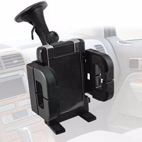 BLU Life 8 XL - Holder Blue Square Box parabrezza mobile delle cellule del cruscotto dell'automobile supporto del supporto della culla