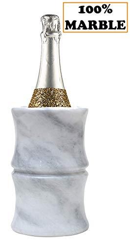 RADICALn Marmor Weinkühler Set 12.5x12.5x16.5 CM Weiß unterCounter Travel Weinkühler Chiller -...