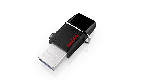 Memoria flash USB SanDisk Ultra Dual de 64 GB con USB 3.0 y hasta 130 MB/s