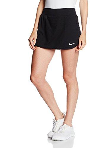 Nike Rock W Nkct Pure schwarz XS (Nike Tennis Röcke Damen)