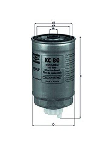 Knecht KC 80 Filtres
