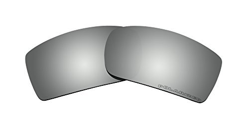 Polarized Sunglasses Lenses Replacement for Oakley Gascan Sunglasses (Black Iridium) by BVANQ