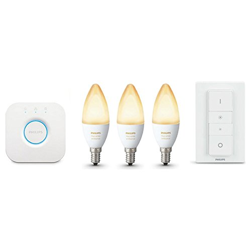Philips Hue White Ambiance LED E14 3er Starter Set 6W inkl. Dimmschalter
