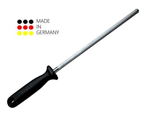 Schwertkrone Wetzstahl aus Solingen 34cm / Wetzstahl für Messer Wetzstab/Chrom-Vanadium Stahl rostfrei