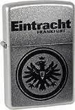 Zippo 27.2607 Feuerzeug Eintracht Frankfurt, Gravur, chrom satin
