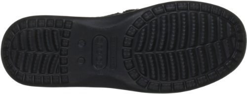 crocs Santa Cruz Men 10128-261-700 Herren Slipper Schwarz ( Black/Black )