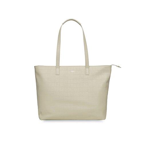 Knomo Mayfair Luxe Maddox 15'' Shopper rot white_white, weiß