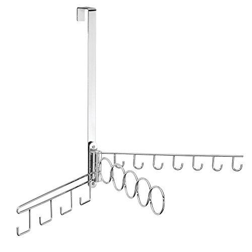 iDesign 84150EU Classico Tür-Wand-Organizer für Hänge-Assessoires, chrom