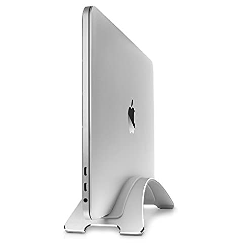 Twelve South BookArc for MacBook, silver   Space-saving vertical desktop stand for Apple notebooks