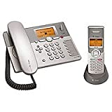 Telekom T-Com Sinus P300i Collection, Schnurgebundenes ISDN Komfort-Tischtellefon Plus Mobilteil Telefon Set