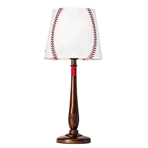 Lampada da tavolo liting nordic ins lampada lampada da letto soggiorno studio creativo minimalista moderno retrò decorativo piccola lampada da comodino (color : brown)