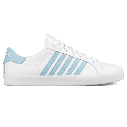 K-Swiss, Sneaker donna White/Dream Blue