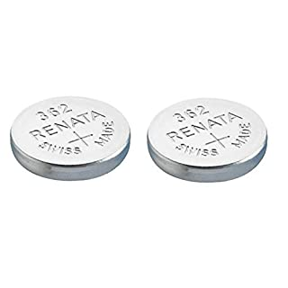 Renata Single Watch Battery Swiss Made 362 or SR 721 SW or AG 11 1.5 V (2 x 362 or SR 721 SW)