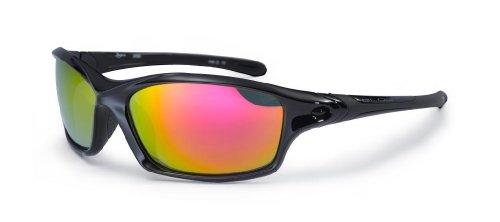 Bloc XR60 Schwarz Daytona Wrap Sunglasses