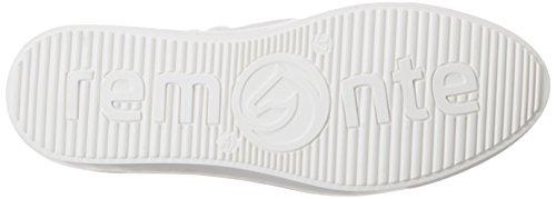 Remonte R7801, Scarpe da Ginnastica Basse Donna Bianco (Beige-silver/altsilber/bianco/81)