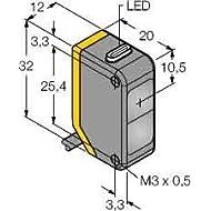 Trasmettitore Turck Opto Sensor Q20E