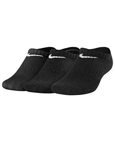 Nike Herren Socken Sport No Show, 3er Pack, Schwarz, EUR 42-46