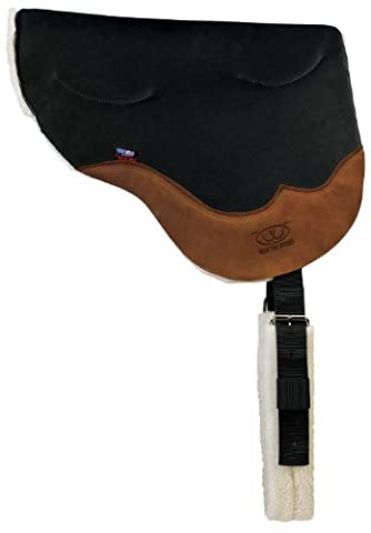 Weaver Leather Stacy Westfall Gel Ultrasuede Bareback Pad, Black by