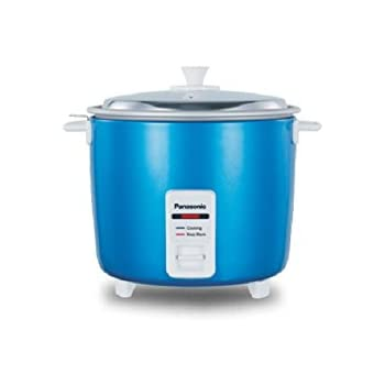 Panasonic SR-WA18H(E) 660-Watt Automatic Cooker Warmer  4.4 Litre (Blue)