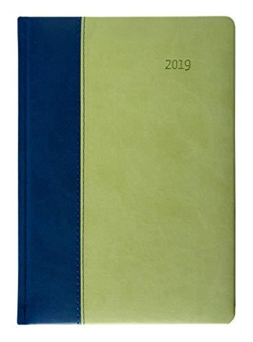 Buchkalender Premium Rainforest 2019 - grün-blau - Bürokalender 15 x 21 cm - Tucson-Einband - 1 Tag / 1 Seite - 416 Seiten - *limitierte Sonderausgabe*
