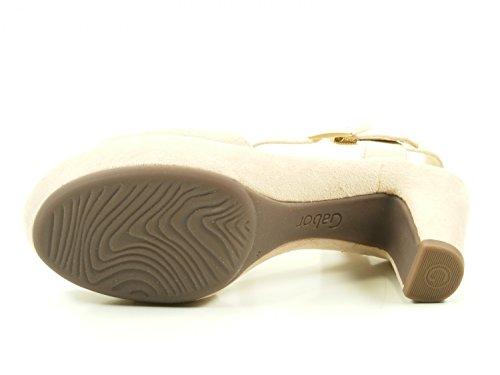 Gabor Shoes Fashion, Sandales Bout Ouvert Femme Rose