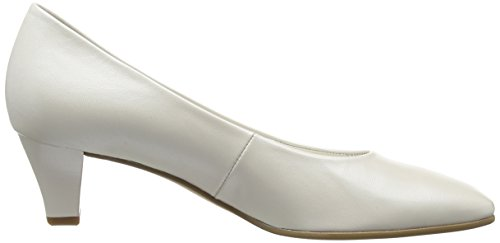 Gabor Competition, Escarpins Femme Blanc Cassé (Off White Pearlised Leather)