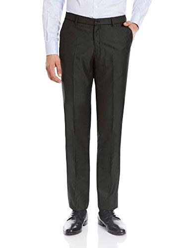 Blackberrys Men's Formal Trousers (8907196474252_NL-MAGLOR_36W x 35L_Diesel Black)