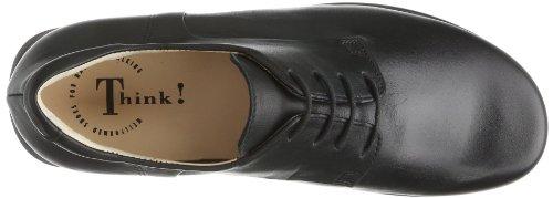 Think  Pensa, Chaussures de ville à lacets pour homme Noir - Schwarz (SCHWARZ 00)