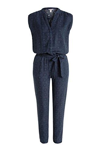Esprit 026ee1l002 - Printed - Combinaisons - Relaxed - Femme Bleu - Blau (NAVY 400)