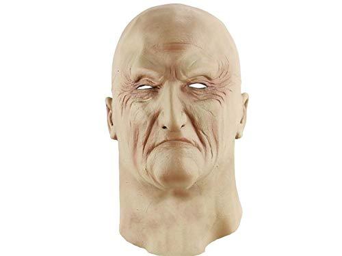 VFK V Kreativ Horror Halloween Unterwelt Kopfbedeckung Maske Scary Guy Maske für Maskerade (Hautfarbe) Geschenk