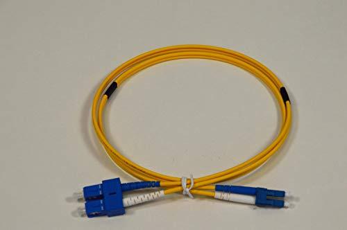 eks FOS Duplex Patchkabel SM-9 LC/SC Länge: 2m -