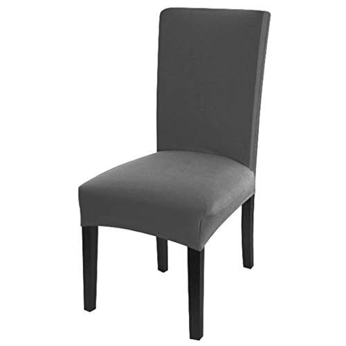 Dioxide Fundas para Sillas Pack de 4 Fundas Sillas Comedor, Fundas Elásticas Chair Covers Lavables Desmontables Cubiertas para Sillas Muy...