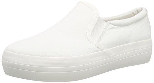 VagabondKeira - Scarpe da Ginnastica Basse Donna , Bianco (Weiß (01 White)), 38