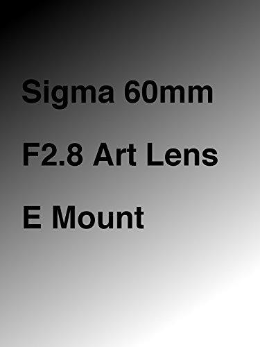 Sigma 60mm F2.8 Art Lens E Mount [OV] - Af-sensor