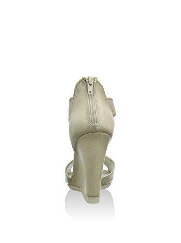 CAFèNOIR  Sandal, Sandales pour femme Blanc - Elfenbein (271 OFF WHITE)