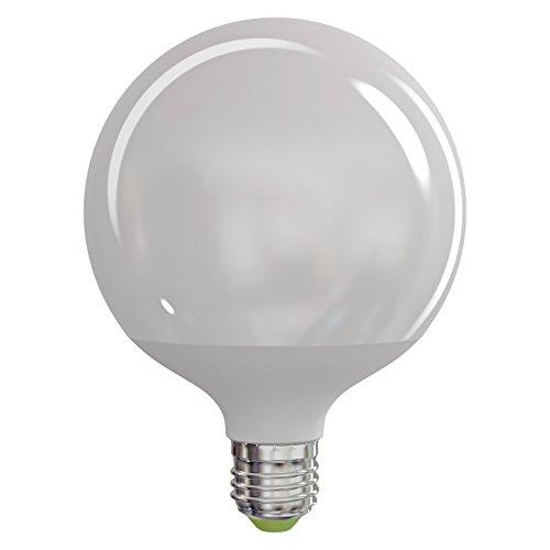 EMOS LED Glühlampe Classic Globe 18W E27 neutralweiß, Glas, 18 W, Transparent, 12 x 12 x 16 cm
