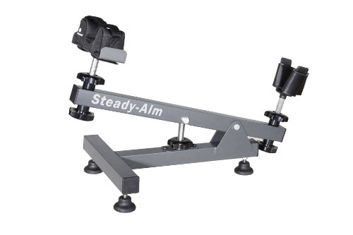 Vanguard Europe Steady Aim Banc de tir mixte adulte Gris 570 mm