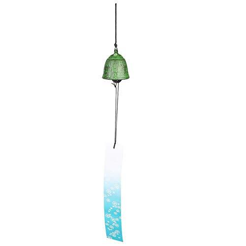 AUNMAS Heroic Chime japanischen Furin-Stil schönen Klang Alten Uhr Schmiedeeisen Windbell für Gartenterrasse Balkon Dekoration (Uhr Alten Stil)