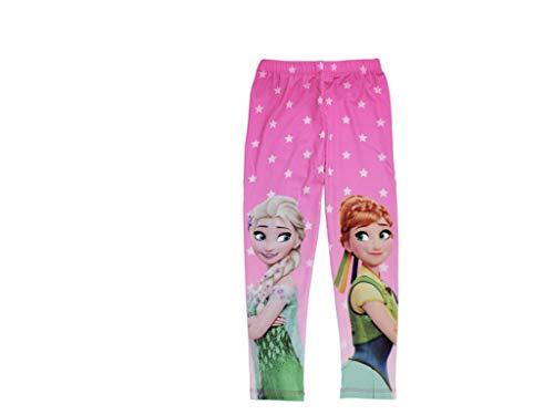 Frozen - die eiskönigin - pantaloni - ragazza pink 104 cm