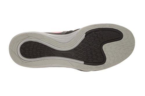 Nike doppio Fusion Tr 3 nero / colore rosa P / Lupo grigio Training Shoe 5.5 Us Grigio-Nero