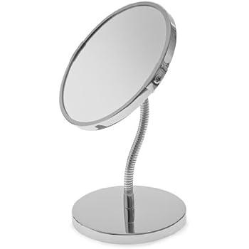 Blue Canyon Free Standing Flexible Make Up Shaving Mirror
